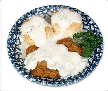 Studio Photography of Country Fried Steak by DDA