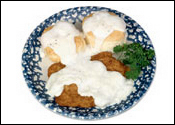 Studio Photography  of  Country Fried Steak