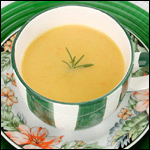 Digital Photography of Butternut Squash Soup