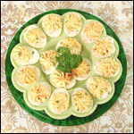 Digital Photography of Deviled Eggs