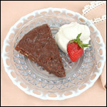 Digital Photography of Chocolate Torte