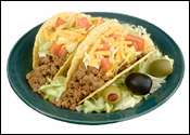 Digital Food Photography of Tacos
