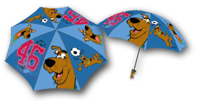 Scooby-Doo Umbrella for Blue Sky by Dynamic Digital Advertising